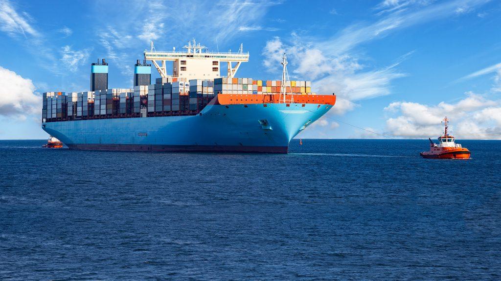 Vận chuyển container đường biển uy tín