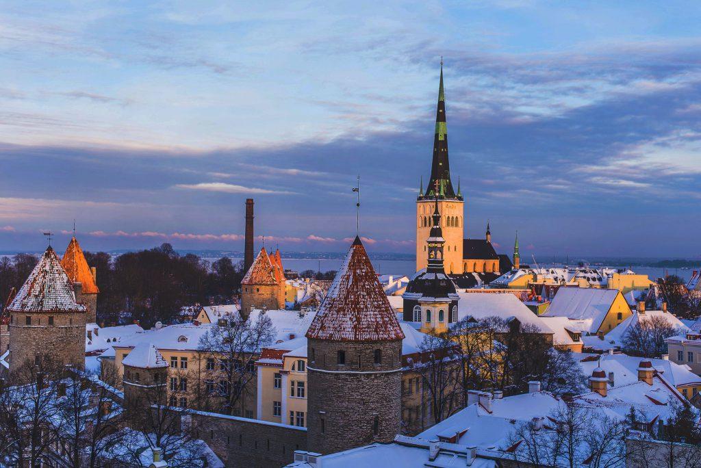 Chuyển hàng hóa đi Estonia