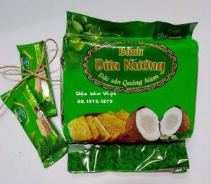 Gửi bánh dừa nướng đi Hàn Quốc