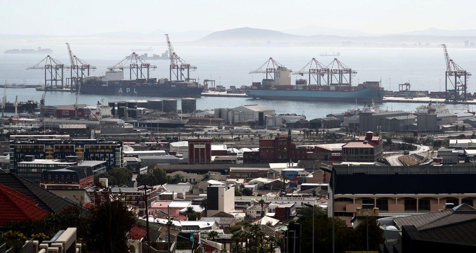 cảng ở Nam Phi